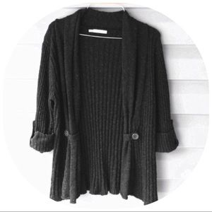 """Maurice's"" Black chunky sweater"